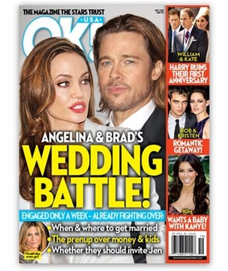 Angelina Jolie and Brad Pitt's Wedding Battles