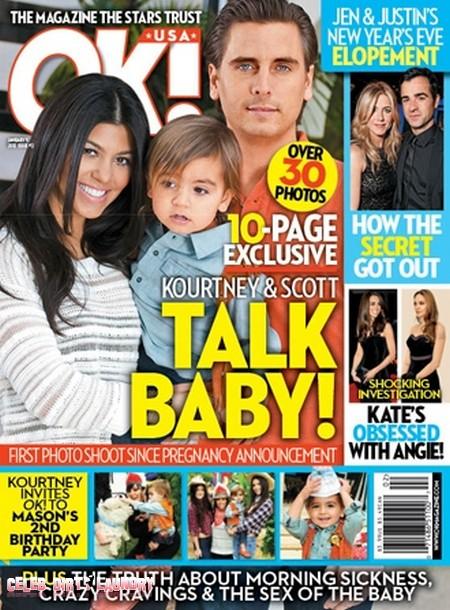 Kourtney Kardashian and Scott Disick Talks About Her New Pregnancy (Photo)