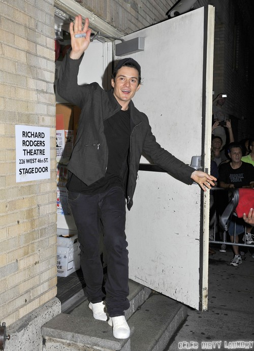 Orlando Bloom Leaves His Broadway Show
