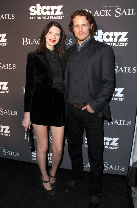 'Sam Heughan & Caitriona Balfe Outlander' Stars Dating or Just Great Friends - New Couple Alert?