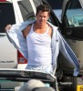 Mark Wahlberg Steroid Use Obvious In Pain And Gain - Is He Lying About How He Got Buff? 0428