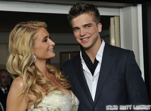 Paris Hilton's Boyfriend River Viiperi Comes To Paris' Rescue From Insane Fan and Groping Incompetent Security