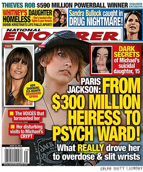 What Drove Paris Jackson To Attempt Suicide? (PHOTO)
