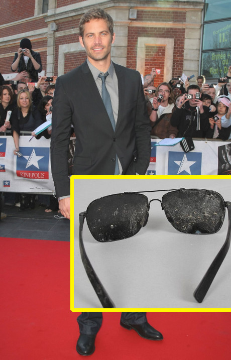 Paul Walker's Charred Sunglasses Put up for Auction by Anonymous Seller!
