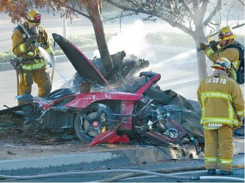 Paul Walker and Roger Rodas Died Street Racing: Police Investigate Crash Cause - Look for Other Racer