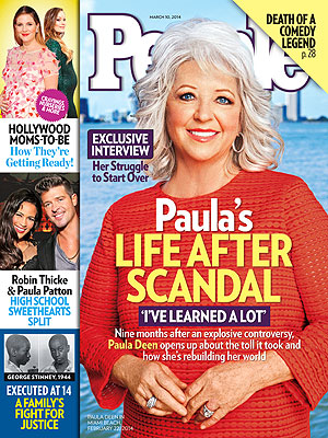 People: Paula Deen Struggles To Repair Her Reputation (PHOTO)