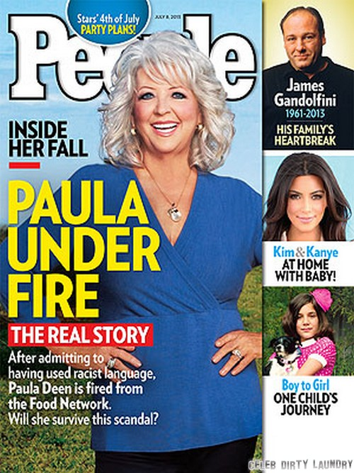 Paula Deen Still Getting Beaten Up For Using N-Word - People Cover
