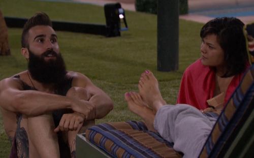 Big brother 18 spoilers james starts pranking paulie explores multiple showmances newbies for Watch celebrity showmance