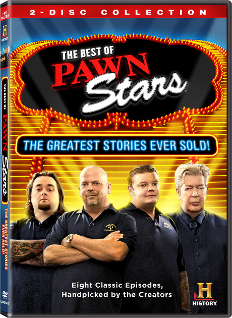 Lionsgate Entertainment to Release Best of American Pickers, Pawn Stars, and Storage Wars DVDs!