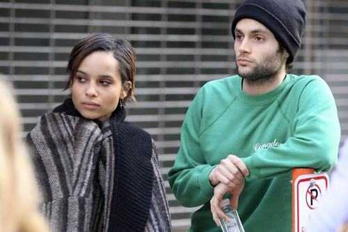 Penn Badgley and Zoe Kravitz Split: Penn Spotted With Mystery Woman In NYC (PHOTOS)