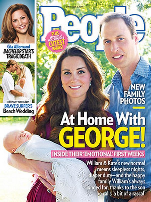 Kate Middleton and Prince William Get Domestic Help For Baby George - People Cover