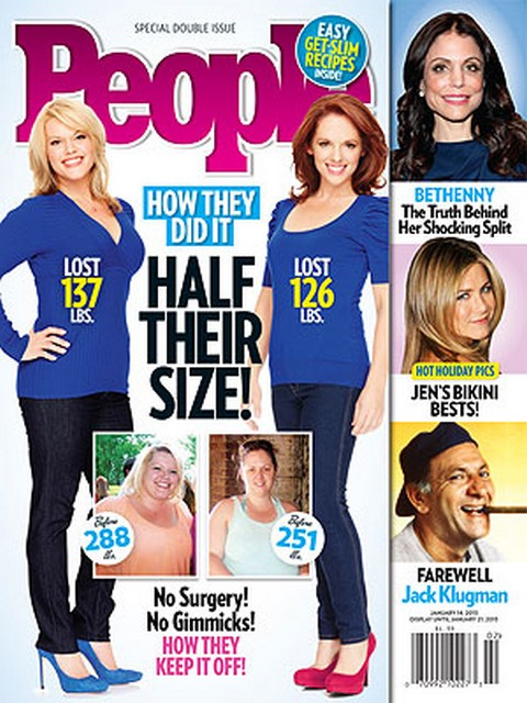 People Cover: The Biggest Secrets To Weight-Loss Revealed