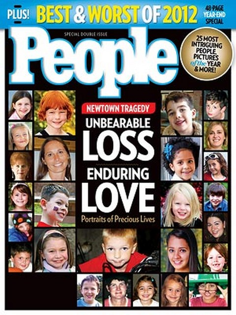 People Magazine Dedicates Entire Issue To The Victims Of Sandy Hook Elementary School Massacre (Photo)