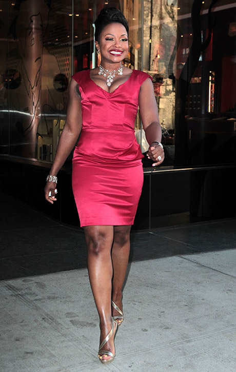 Phaedra Parks Only Interested in Using Kandi Burruss' Wild Bachelorette Party For Publicity!
