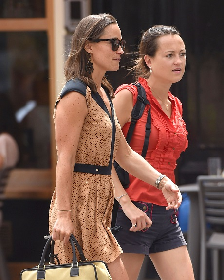 Exclusive... Pippa Middleton Goes To Lunch In London