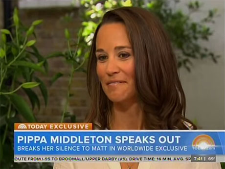 Kate Middleton And Prince William Furious At Pippa Middleton For Her Disastrous Today Show Interview! (VIDEO)