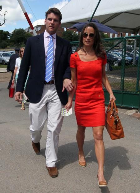 Pippa Middleton Back With Old Boyfriend, Alex Loudon 0701