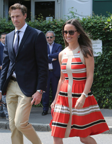 Pippa Middleton Says She Had Major Hots For Her Childhood Hockey Coach!