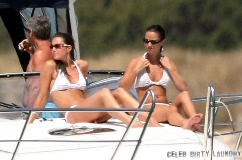 Pippa Middleton Planned Kate Middleton Baby Bump Bikini Pics With Mother Carole (Photos)