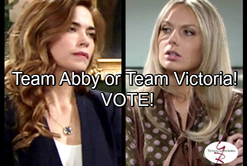 The Young and the Restless Spoilers: Which of Victor's Daughters Should Run Newman - Are You Team Victoria or Team Abby?