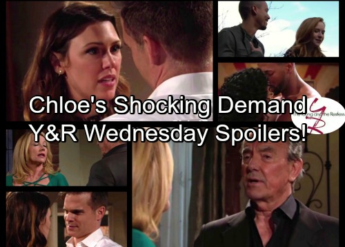 The Young and the Restless Spoilers: Chloe Drops Bomb on Kevin – Victor Suspicious of Tessa – Jordan and Hilary Get Passionate