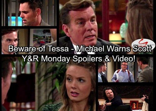The Young and the Restless Spoilers: Tessa Deceives Nick - Michael Warns Scott To Obey Victor - Billy Furious at Chloe