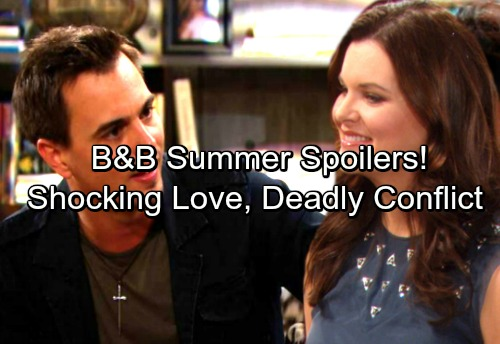 The Bold and the Beautiful Spoilers: Hot Summer Preview - Dangerous Threats, Fashionable Faceoffs and Surprising Love Stories