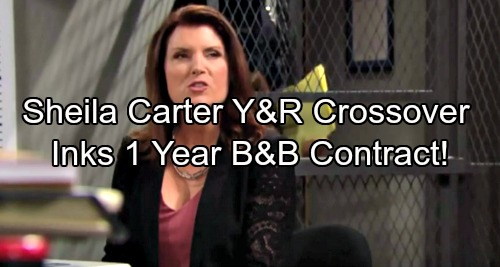The Young and the Restless Spoilers: Sheila Y&R Crossover Coming – Kimberlin Brown Inks One-Year B&B Deal