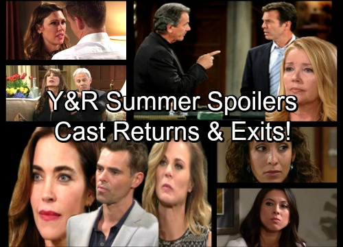 The Young and the Restless Spoilers: Y&R Cast Departures and Returns - Secrets Explode as Summer Plots Heat Up