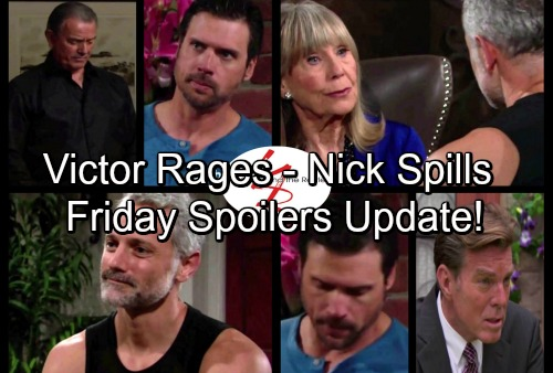 The Young and the Restless Spoilers: Friday, June 23 Update - Victor Rages At Jack and Nikki – Dina's Admission Stuns Ashley