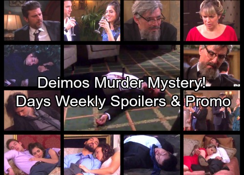 Days of Our Lives Spoilers: Week of June 26 – Stunning Secrets, Deep Desires and a Brutal Murder