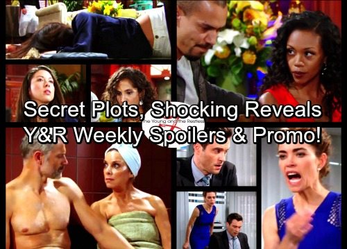 The Young and the Restless Spoilers: Week of June 26 – Secret Plots, Shocking Revelations and Exploding Conflict
