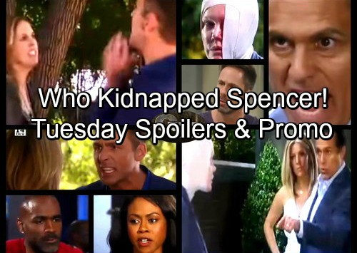 General Hospital Spoilers: Tuesday, July 18 – Spencer Faces Kidnapper's Wrath – Sonny and Carly Blast Ava – Julian Gets a Shock