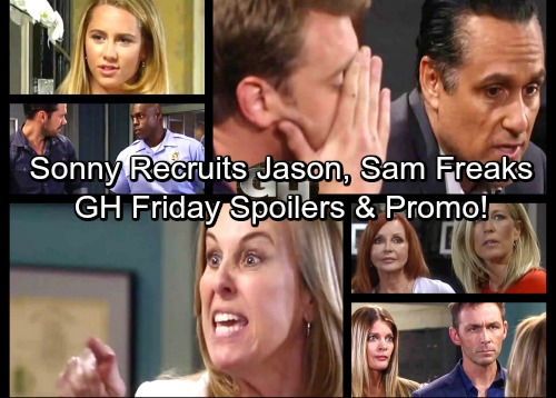 General Hospital Spoilers: Friday, July 21 – Sonny Recruits Jason, Gets Spencer Clue – Sam Lashes Out at Ava – Laura's Rage Erupts