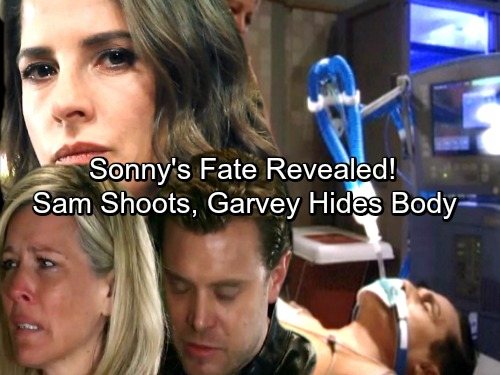 General Hospital Spoilers: Sam Shoots Sonny, Leaves Him For for Dead in a Pit – Garvey Hides Dying Enemy