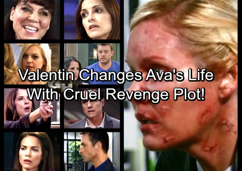 General Hospital Spoilers: Valentin's Life-Changing Offer for Ava – Trades Reconstructive Surgery for Help With Vengeful Plot