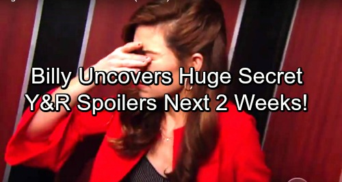 The Young and the Restless Spoilers for Next 2 Weeks: Billy Uncovers Huge Secret – Abby Romance - Victor Gets Nasty – Chelsea's Past