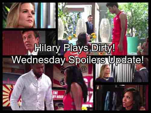 The Young and the Restless Spoilers: Victoria's Crisis Pulls Billy Closer – Hilary Plays Dirty – Ashley Has a Hunch About Dina