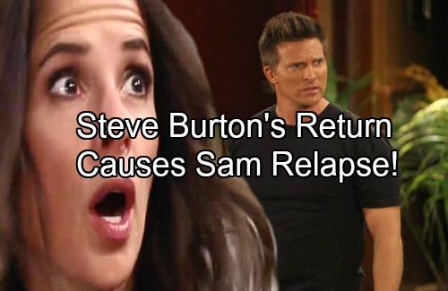 General Hospital Spoilers: Sam Confuses Fantasy and Reality – Steve Burton Return As Original Jason Causes Relapse