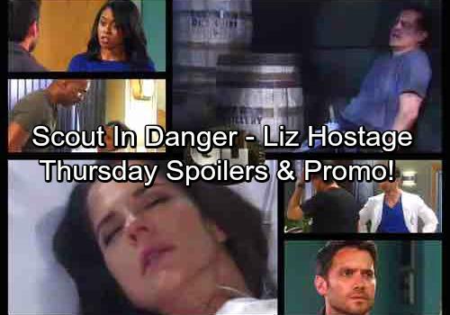 General Hospital Spoilers: Thursday, July 27 Updates – Scout's Life in Danger - Liz Held Captive – Dante Gets Alarming News
