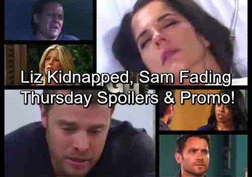 General Hospital Spoilers: Thursday, July 27 – Garvey Takes Liz Hostage - Jason Faces Devastating News – Michael Seeks Sonny
