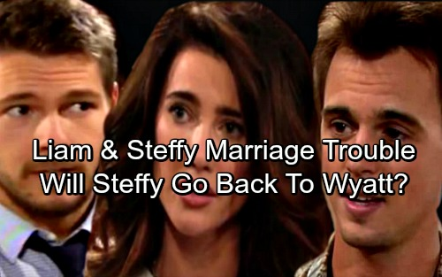 The Bold and the Beautiful Spoilers: Liam and Steffy's Marriage on the Rocks – Will Steffy Go Crawling Back to Wyatt?