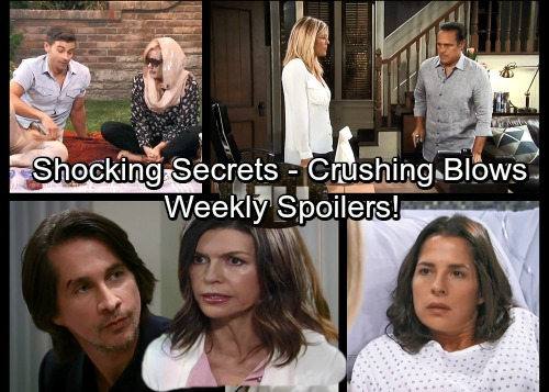 General Hospital Spoilers: Week of August 21 – Risky Deals, Shocking Revelations and Crushing Blows