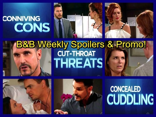 The Bold and the Beautiful Spoilers: Week of August 21 - Bill Ponders Katie's Mystery Lover – Sally's Fashion Show Shocker