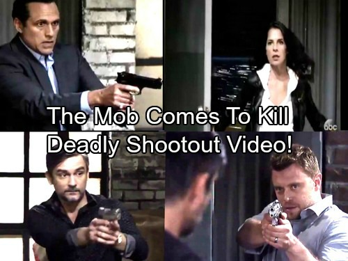 General Hospital Spoilers: The Mob Comes Gunning For Sonny - Shocking Shootout Puts Jason's Life on the Line