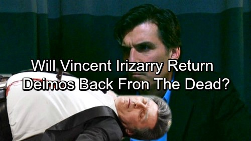 Days of Our Lives Spoilers: Vincent Irizarry Might Be Returning As Deimos Kiriakis - Here Are The Clues