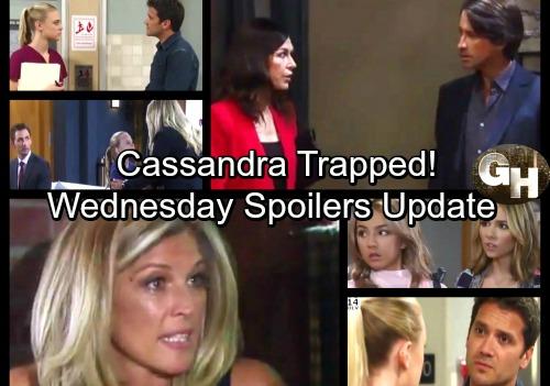 General Hospital Spoilers: Wednesday, September 20 Update – Trap Set for Cassandra – Valentin Shocks Lulu