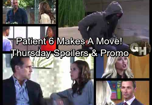 General Hospital Spoilers: Thursday, September 21 – Patient Six Makes a Move – Sam Says Jason's A Different Man