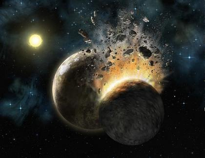 Asteroid to end life on earth