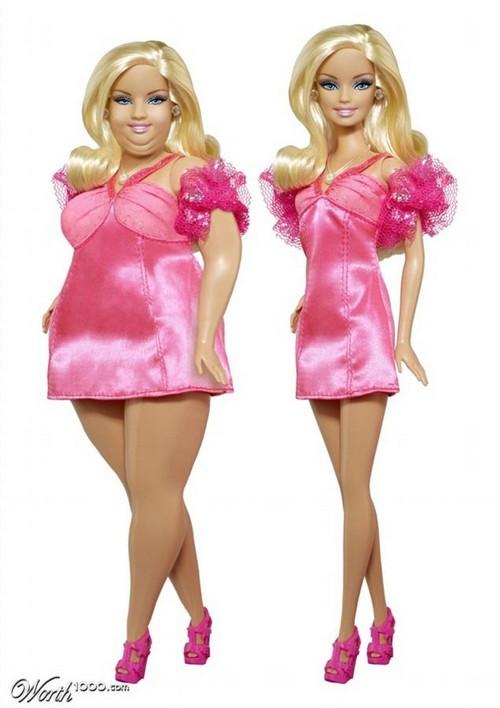 Plus-Size Barbie Backlash: Obese Mattel Mockup Has Internet Raging Over Triple Chins (PHOTOS)